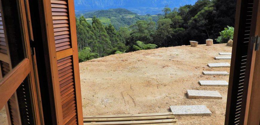 Excepcional Chalé estilo Alpino de 70 M² – Anitápolis